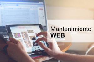 Mantenimiento de la Web